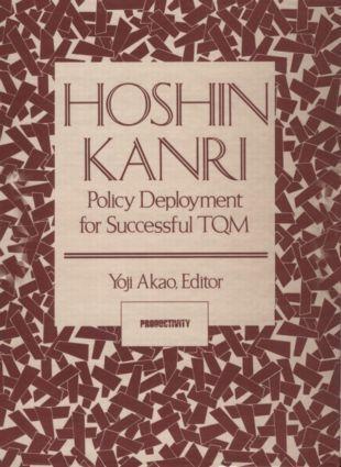 Hoshin Kanri: Policy Deployment for Successful TQM als Taschenbuch