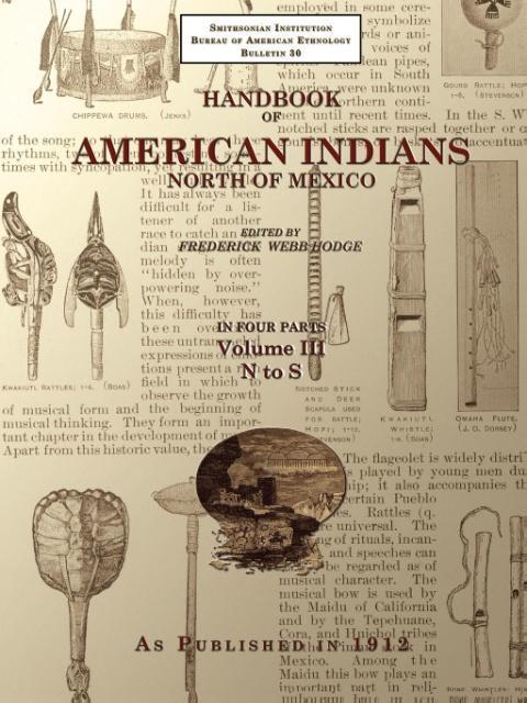Handbook of American Indians North of Mexico V. 3/4 als Taschenbuch