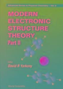 Modern Electronic Structure Theory - Part II als Taschenbuch