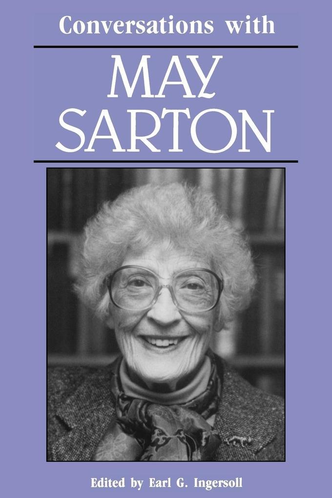 Conversations with May Sarton als Taschenbuch