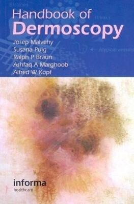 Handbook of Dermoscopy als Taschenbuch