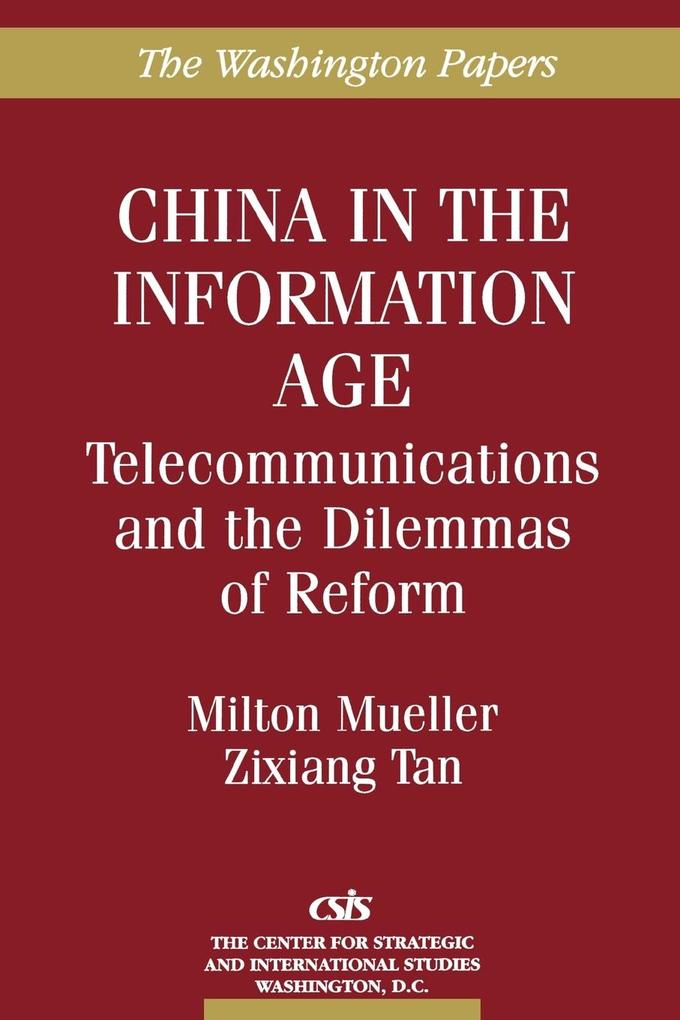 China in the Information Age als Buch (kartoniert)