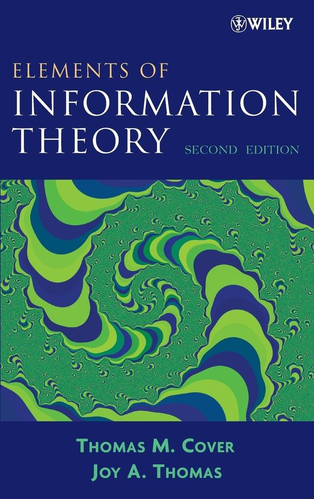 Elements of Information Theory als Buch (gebunden)