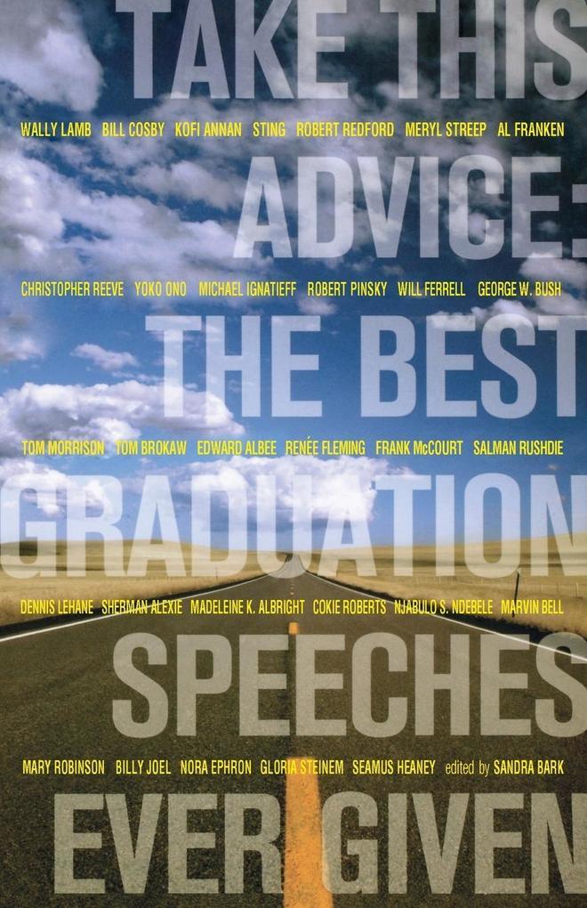 Take This Advice: The Best Graduation Speeches Ever Given als Taschenbuch