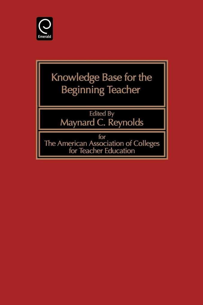 Knowledge Base for the Beginning Teacher als Buch (gebunden)
