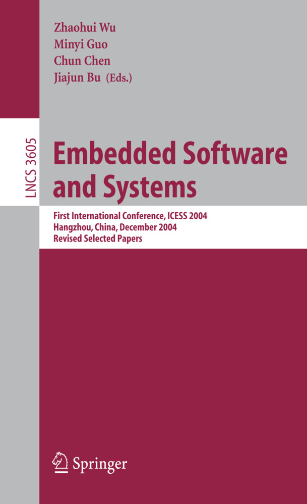 Embedded Software and Systems als Buch (kartoniert)