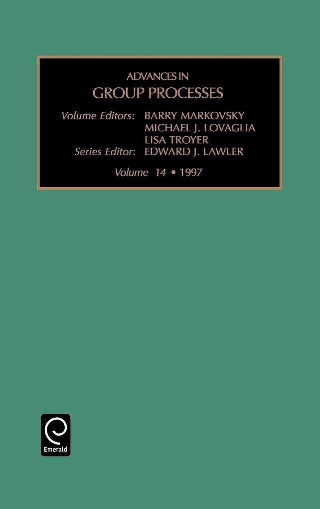 Advances in Group Processes als Buch (gebunden)