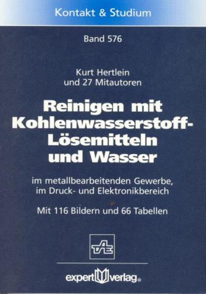 Reinigen mit Kohlenwasserstoff-Lösemittel und Wasser als Buch (kartoniert)