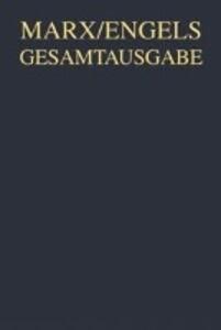Ökonomische Manuskripte 1857/58 / Karl Marx Apparat als Buch (gebunden)