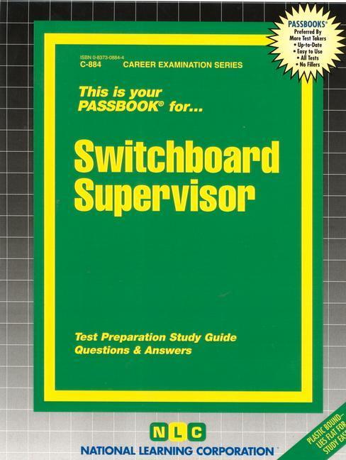 Switchboard Supervisor: Passbooks Study Guide als Taschenbuch
