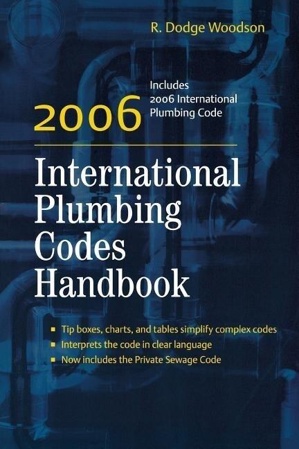 2006 International Plumbing Codes Handbook als Buch (kartoniert)