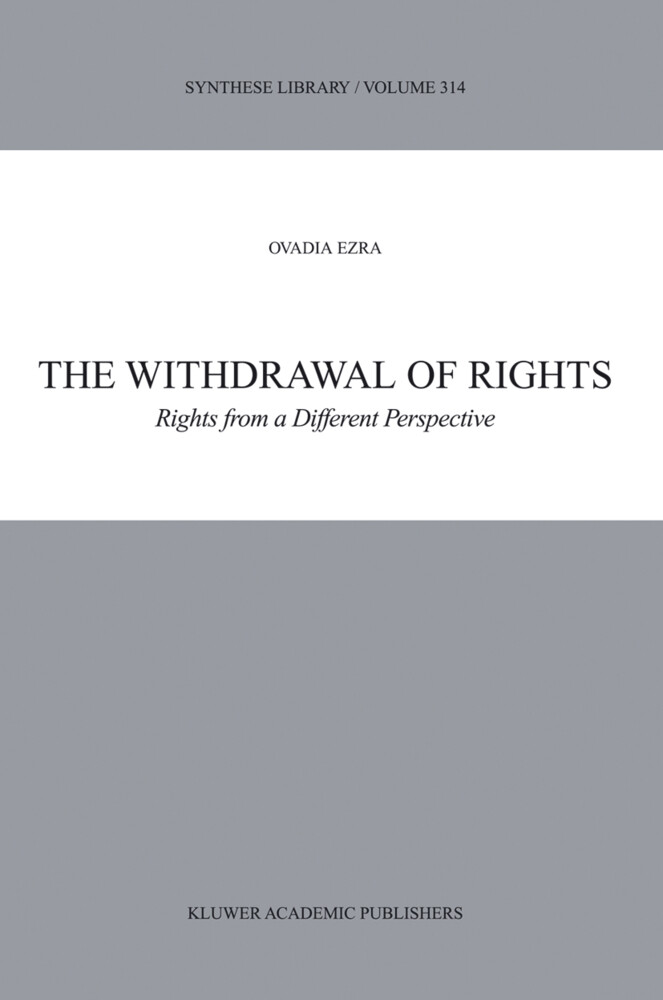 The Withdrawal of Rights als Buch (gebunden)