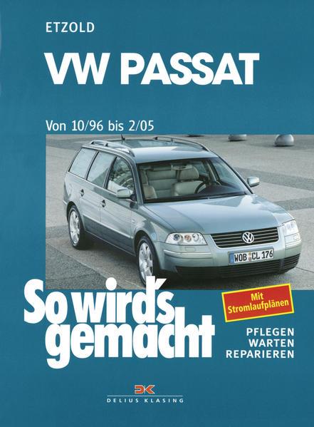 VW Passat ab 10/96 bis 2/05 als Buch (kartoniert)