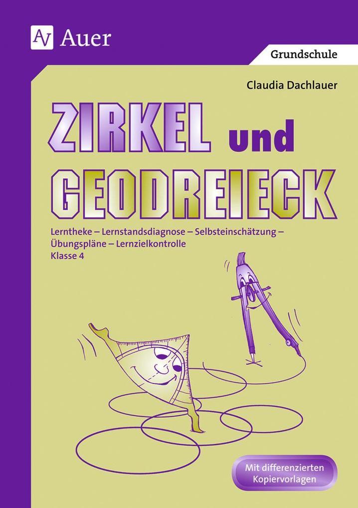 Zirkel und Geodreieck als Buch (kartoniert)