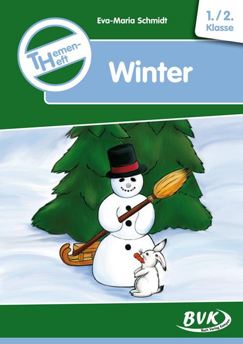 Themenheft Winter 1./2. Klasse als Buch (kartoniert)