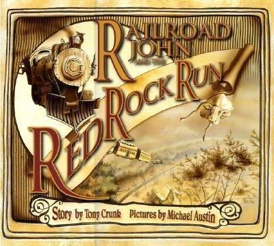 Railroad John and the Red Rock Run als Buch (gebunden)