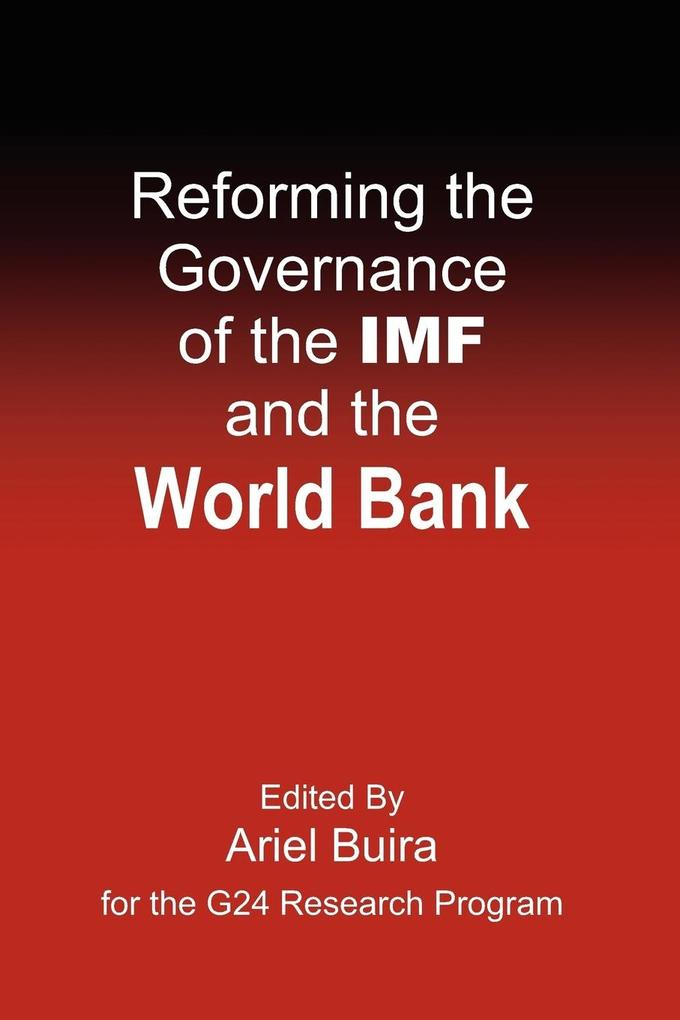 Reforming the Governance of the IMF and the World Bank als Taschenbuch