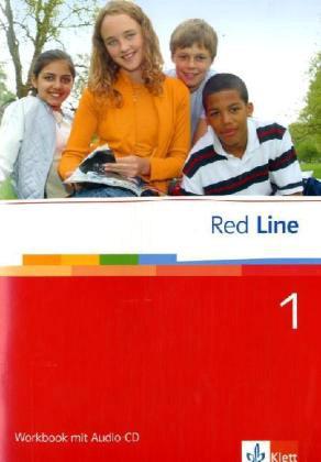 Red Line 1. Workbook mit CD als Buch (geheftet)
