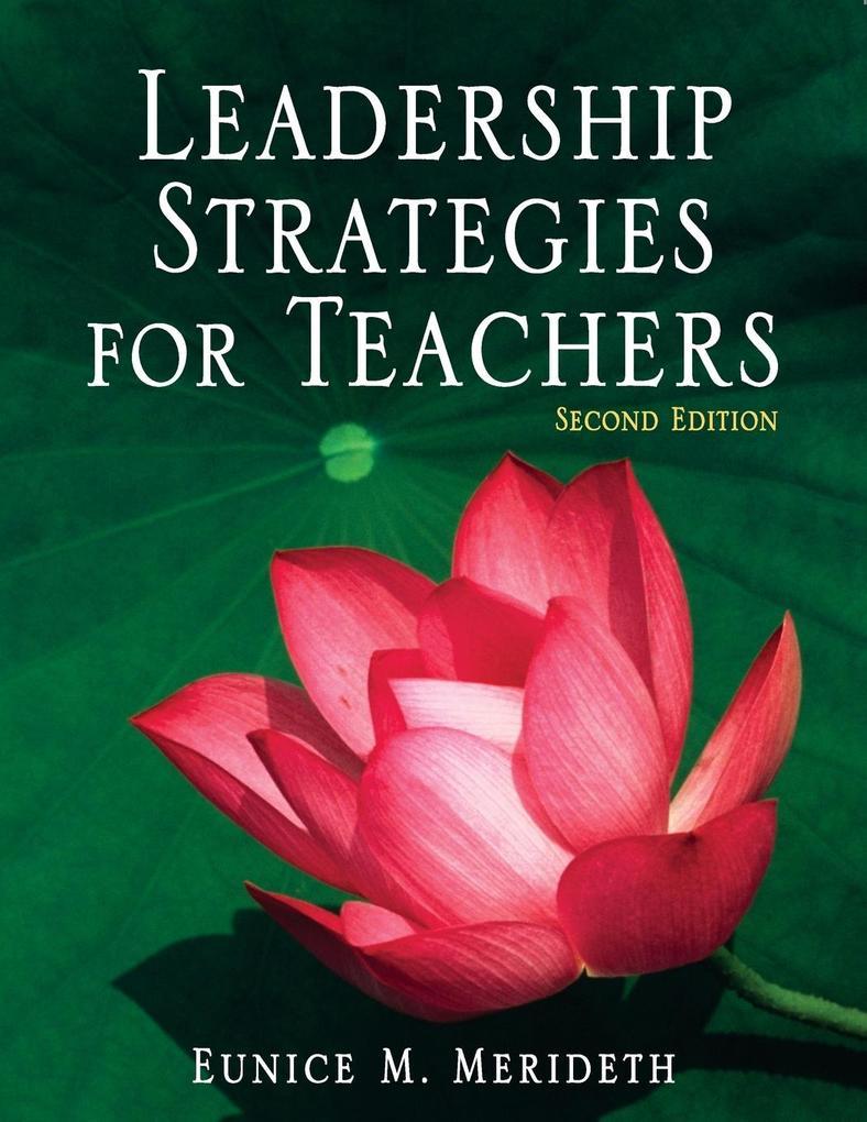 Leadership Strategies for Teachers als Taschenbuch
