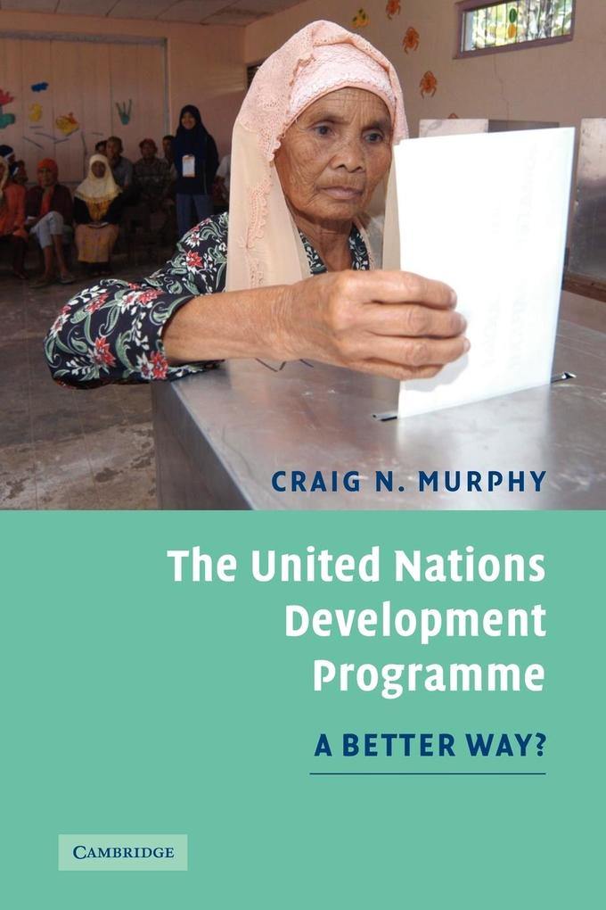 The United Nations Development Programme als Taschenbuch