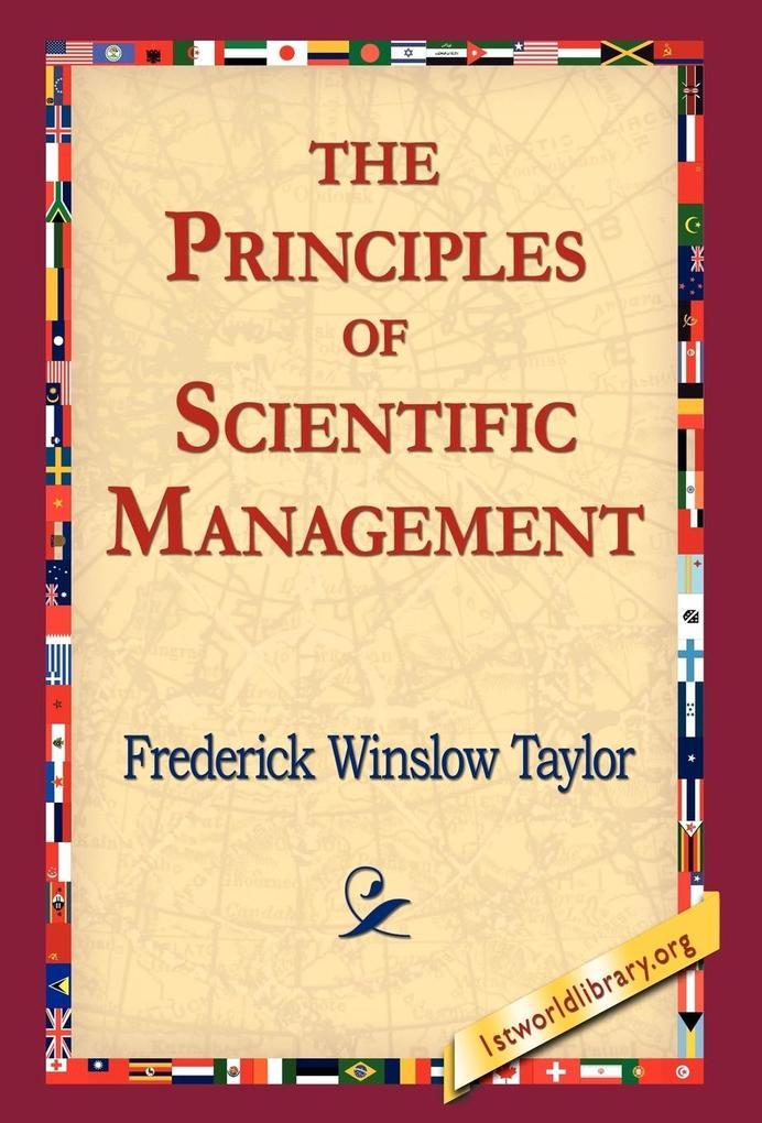 The Principles of Scientific Management als Buch (gebunden)