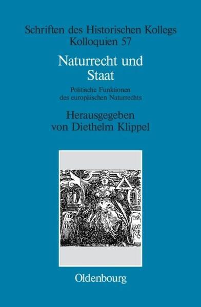 Naturrecht und Staat als Buch (gebunden)