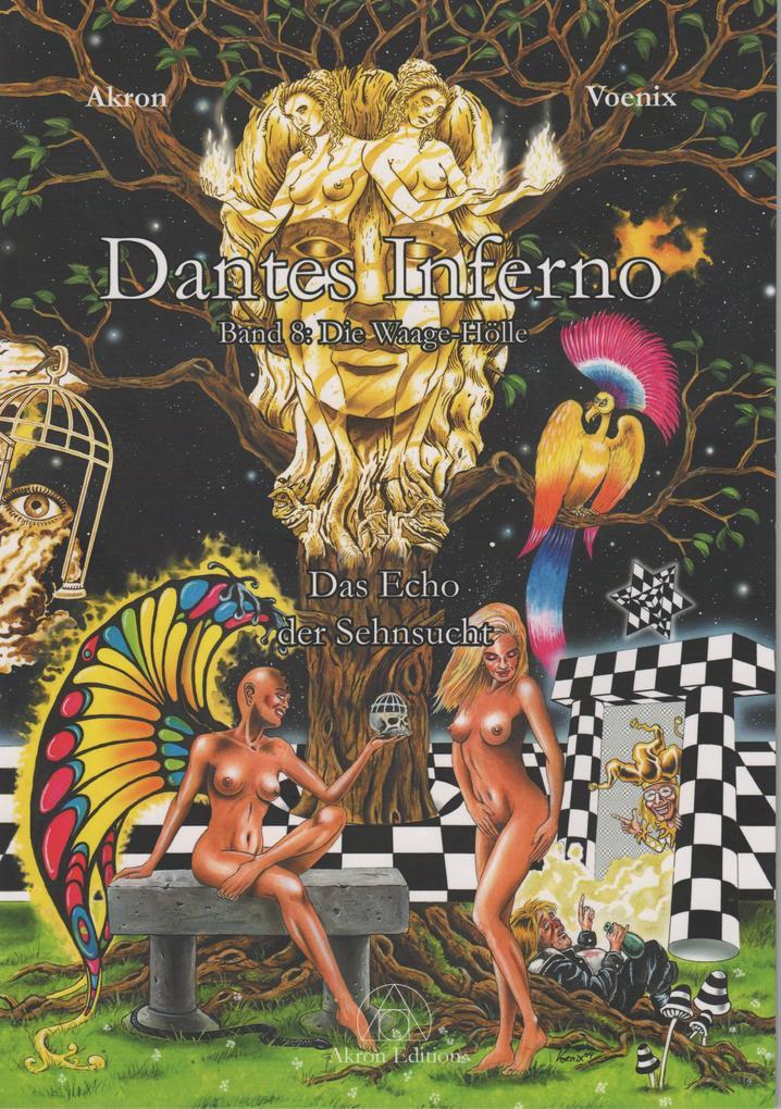 Dantes Inferno - Die Waage-Hölle als Buch (kartoniert)