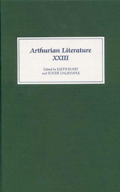 Arthurian Literature XXIII als Buch (gebunden)