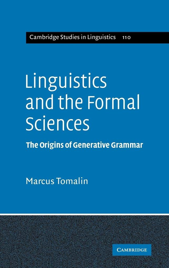 Linguistics and the Formal Sciences als Buch (gebunden)