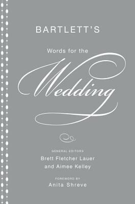 Bartlett's Words for the Wedding als Buch (gebunden)