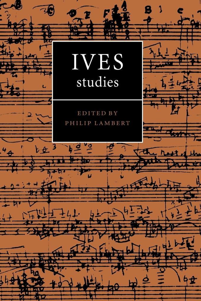 Ives Studies als Taschenbuch