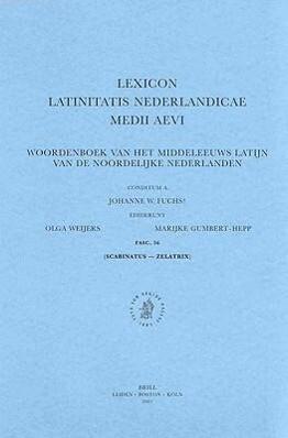 Lexicon Latinitatis Nederlandicae Medii Aevi, VII. Q-R-Stu, Fasc. 56 als Taschenbuch