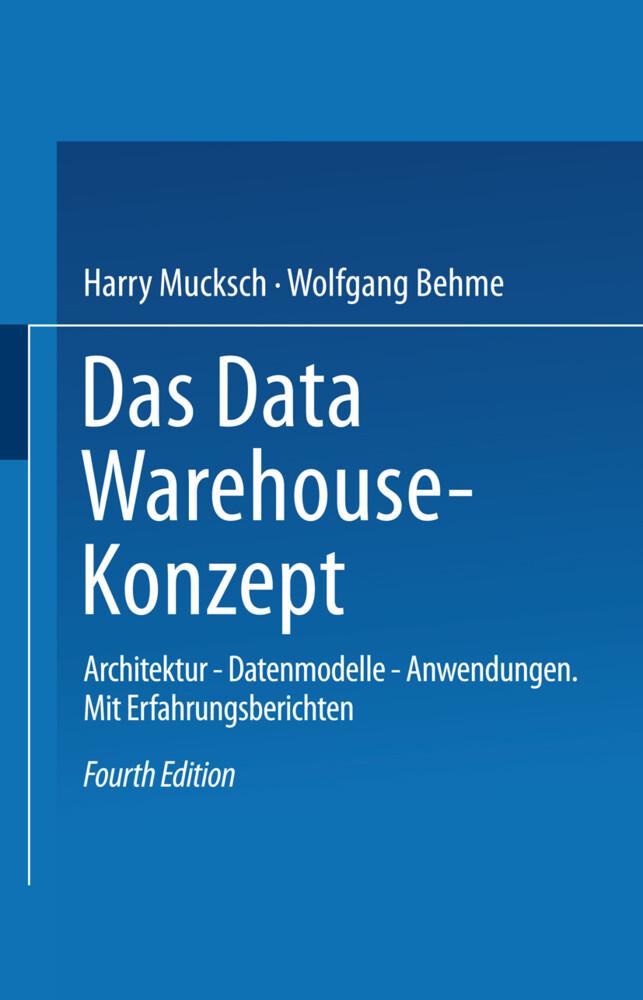 Das Data Warehouse-Konzept als Buch (kartoniert)