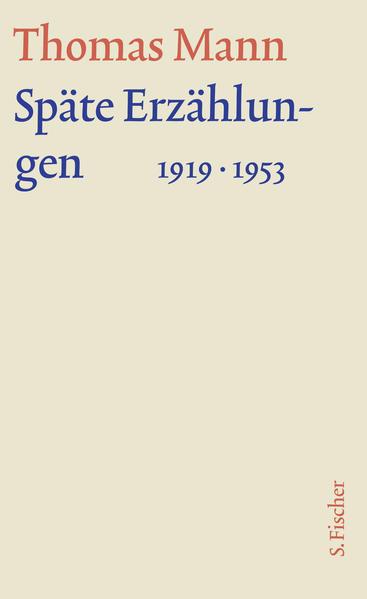 Späte Erzählungen 1919-1953 als Buch (gebunden)