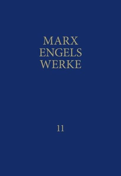 MEW / Marx-Engels-Werke Band 11 als Buch (gebunden)