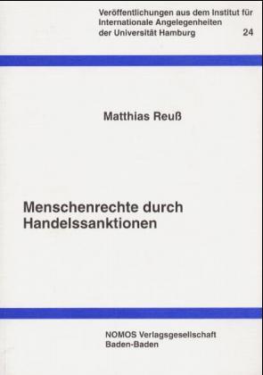 Menschenrechte durch Handelssanktionen als Buch (kartoniert)