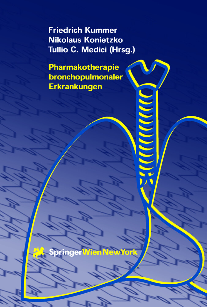 Pharmakotherapie bronchopulmonaler Erkrankungen als Buch (gebunden)