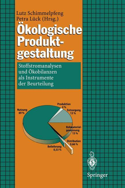 Ökologische Produktgestaltung als Buch (kartoniert)
