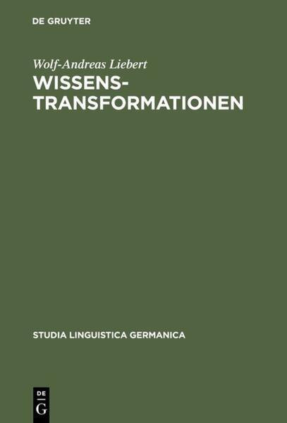 Wissenstransformationen als Buch (gebunden)