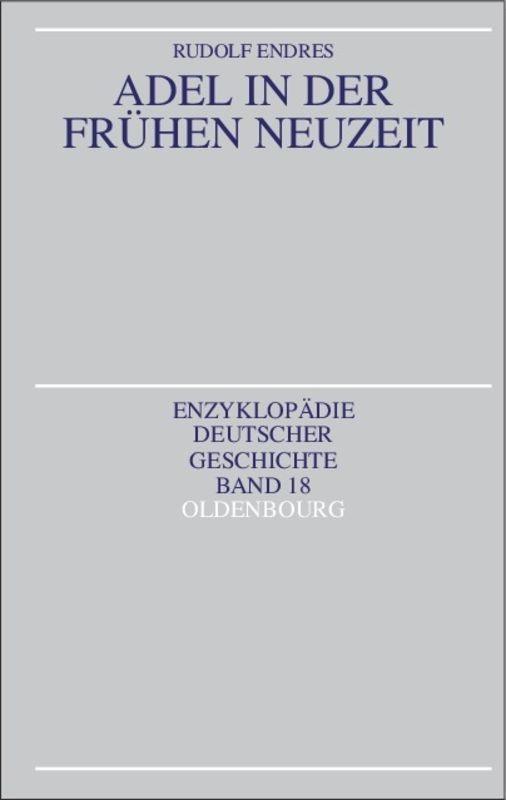 Adel in der Frühen Neuzeit als Buch (kartoniert)