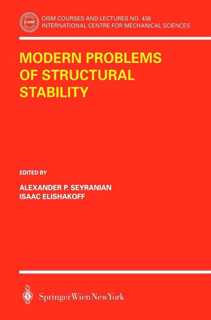 Modern Problems of Structural Stability als Buch (kartoniert)