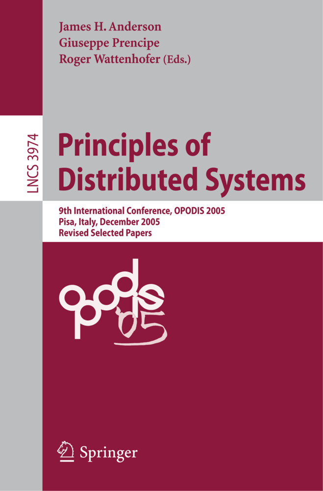 Principles of Distributed Systems als Buch (kartoniert)