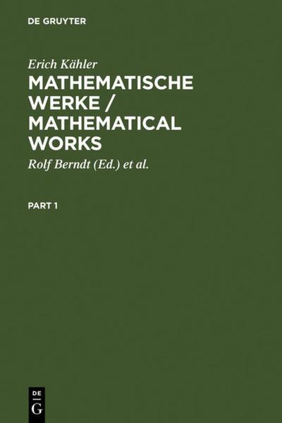 Mathematische Werke / Mathematical Works als Buch (gebunden)