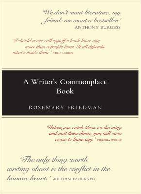 WRITERS COMMONPLACE BK als Buch (gebunden)