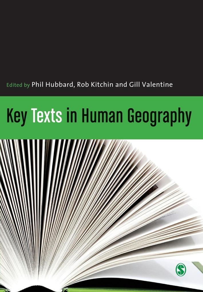 Key Texts in Human Geography als Buch (kartoniert)