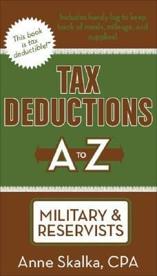 Tax Deductions A to Z for Military & Reservists als Taschenbuch