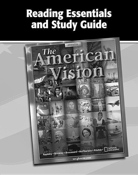 The American Vision, Reading Essentials and Study Guide, Workbook als Taschenbuch