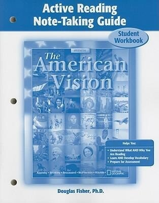 The American Vision Active Reading Note-Taking Guide: Student Workbook als Taschenbuch