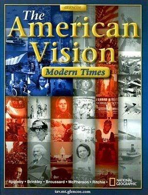 The American Vision: Modern Times als Buch (gebunden)