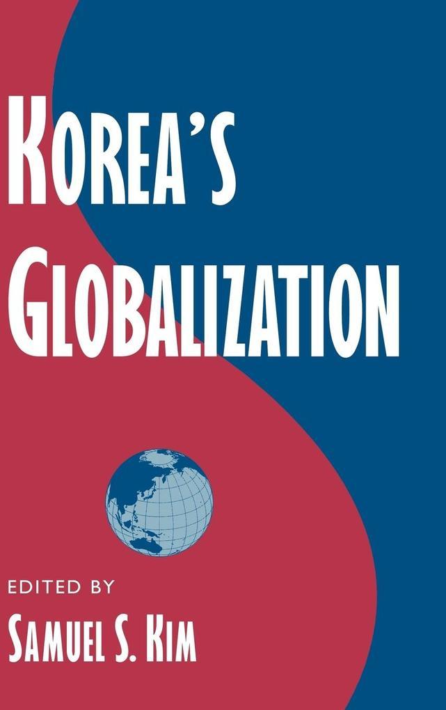 Korea's Globalization als Buch (gebunden)